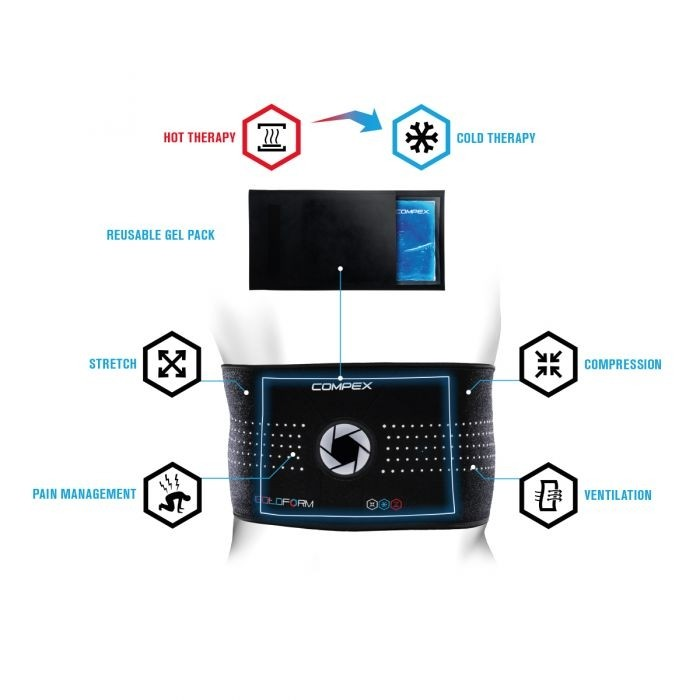 Compex ColdForm Back  | Cold & Hot therapy