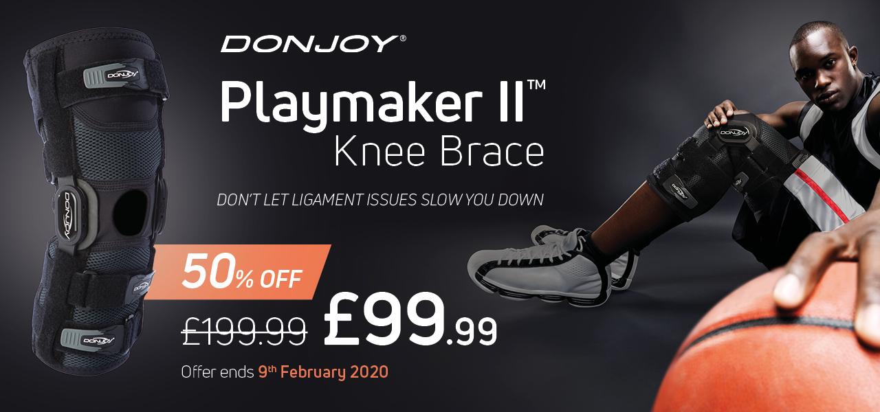 DonJoy playmaker knee brace 2