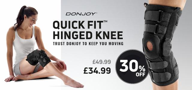 DonJoy Quickfit_Knee brace