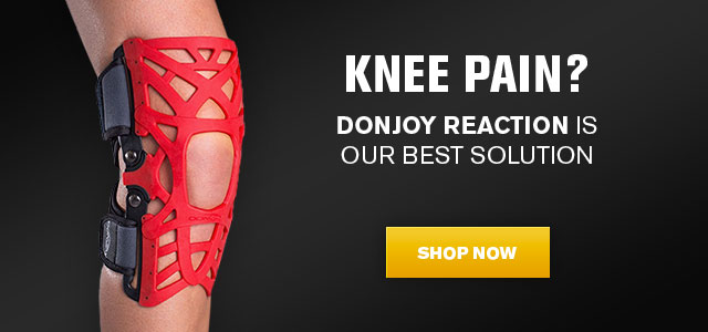 Donjoy web knee reaction